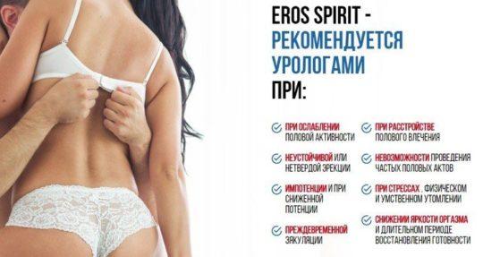 Урологи рекомендуют Eros Spirit